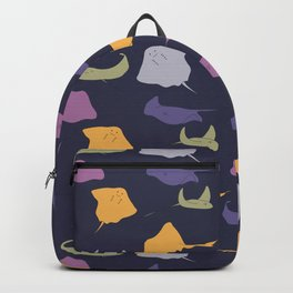 A Fever of  Stingrays Backpack