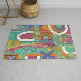 Celebration of color Rug
