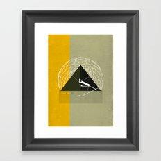 Great Pyramid of Giza Framed Art Print