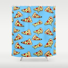 PIZZA HOT Shower Curtain