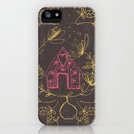 Ginger Bread Christmas iPhone Case