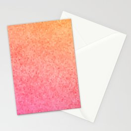 Sea Glass ~ Coral Stationery Cards