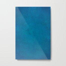 Navy Blue Metal Print