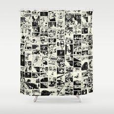 Pipien Molestus abnormal edition Shower Curtain