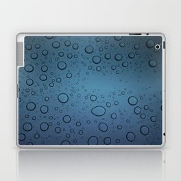 It was Night and the Rain fell Laptop & iPad Skin
