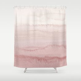 WITHIN THE TIDES - BALLERINA BLUSH Shower Curtain