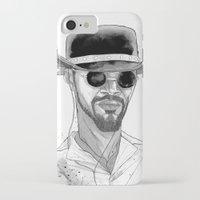 django iPhone & iPod Cases featuring Django by Andy Christofi