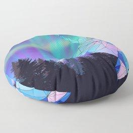 Aurora Reindeer Floor Pillow