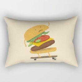 Burger Wipe-out Rectangular Pillow
