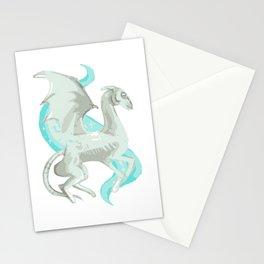 Magic cute Fantastic beast white Stationery Cards