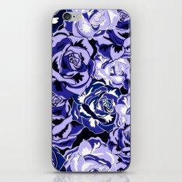 Beautiful Violet Roses iPhone Skin