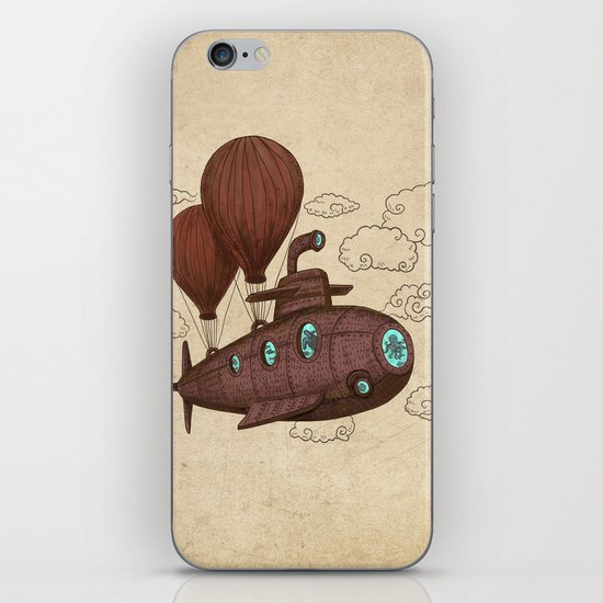 The Fantastic Voyage iPhone & iPod Skin