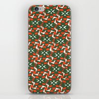 camo iPhone & iPod Skins featuring Camo by Meaghan Monroe
