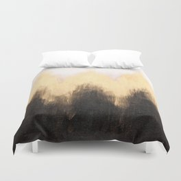 Metallic Abstract Duvet Cover