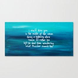 Thunder Canvas Print