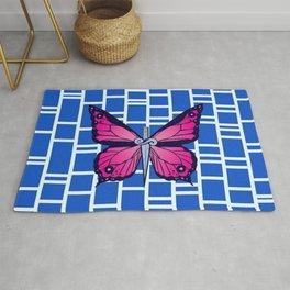 Jolyne cujoh butterfly pattern Rug