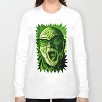 scream Long Sleeve T-shirts featuring SCREAM! by Silvio Ledbetter