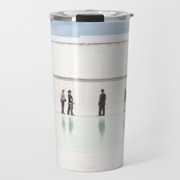 Memorial to the soldiers Travel Mug