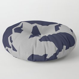 Bear, Moon, and Rocky Mountain - Canadian Inspired Kids Print Floor Pillow