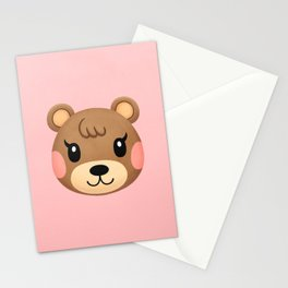Maple Animal Crossing Stationery Cards