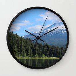 Beneath the Mountain Wall Clock