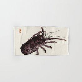 Crayfish by Kōno Bairei (1844-1895) japanese art Hand & Bath Towel