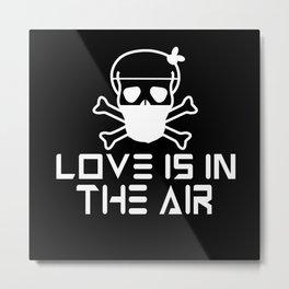 Anti Valentines Day Metal Print