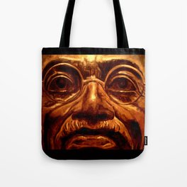 Gandhi - into the face Tote Bag