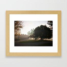 September morning Framed Art Print