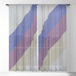 Dynamic Recording Video Cassette Palette Sheer Curtain