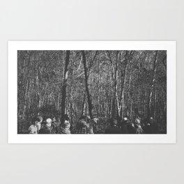 Transit Photo Series: Men at work Art Print