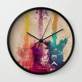 guitars 2 Wall Clock