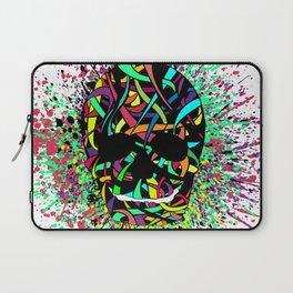 COLOUR SKULL  Laptop Sleeve