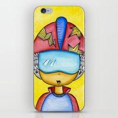 Aliem Space Explorer Boy iPhone & iPod Skin