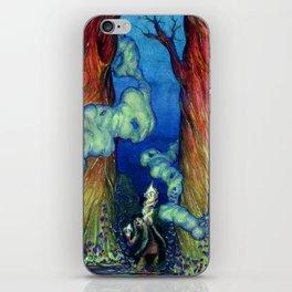 Harlequin Forest Sorcerer iPhone Skin