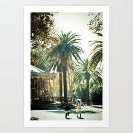 Playtime is Over Art Print