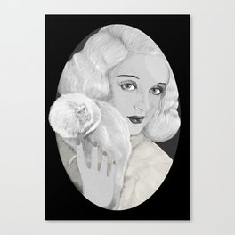 Mrs. Coulter. Canvas Print