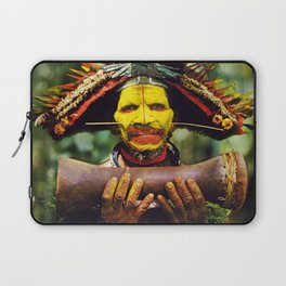 Papua New Guinea Chief Laptop Sleeve