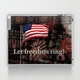 Let Freedom Ring! Laptop & iPad Skin