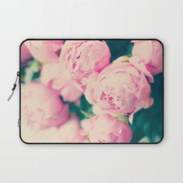Pink parisian peonies Laptop Sleeve