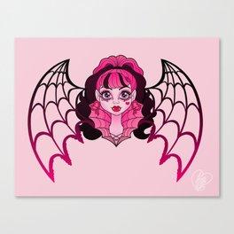 Ghouls Rule Draculaura Canvas Print