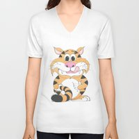 gizmo V-neck T-shirts featuring GIZMO by Topper