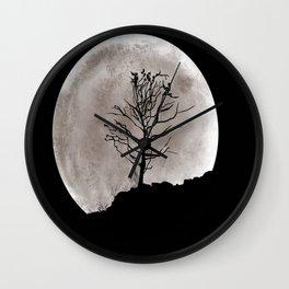 Midnight Rest Wall Clock