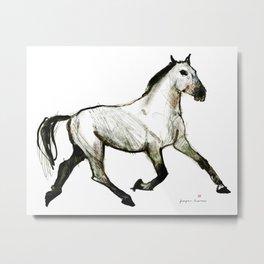 Horse (Trotter) Metal Print