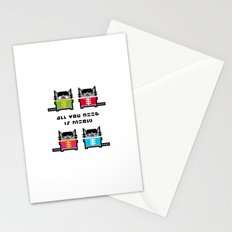 All You Need Is Meow Stationery Cards