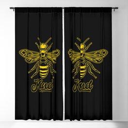Be Kind - Bee kind Blackout Curtain
