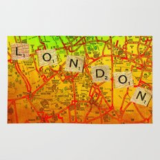 London Map Rug