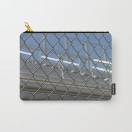 Bleachers Behind Fence Carry-All Pouch