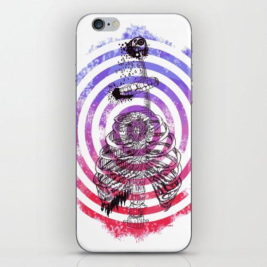 Skeleton Bullseye iPhone Skin