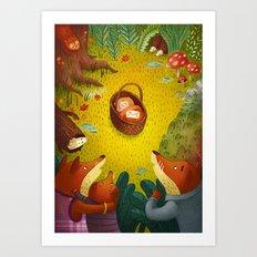 The Mystery Baby Art Print